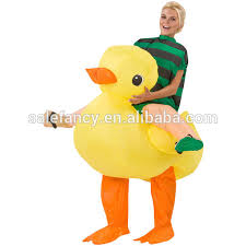 duck costume yellow color an rubber duck costume hot sale