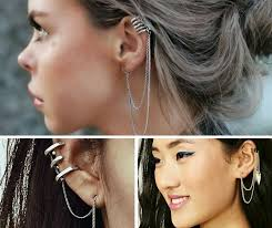 earrings cuffs 12 ways to wear ear cuffs