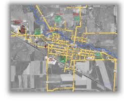 Printable Map Of Wisconsin by Satellite Map Of Augusta Wisconsin