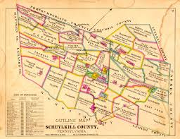 Pennsylvania Map With Counties by Schuylkill County Landowner Resources