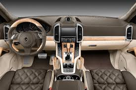 porsche 2017 interior interior porsche cayenne topcar gt 958 1 dark green topcar
