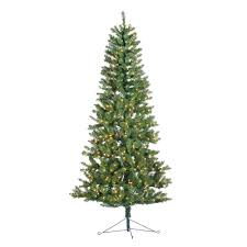 sterling 7 ft indoor pre lit glenwood spruce artificial