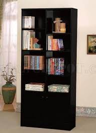 Free Standing Bookcases Living Room Modern Bookcase With Doors Uk Bookcases Home Design