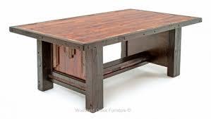 black rustic dining table attractive rustic dining table tables barnwood fuegodelcorazonbc