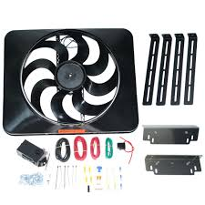 flex a lite electric fan kit flexalite180 mustang flex a lite black magic extreme electric fan
