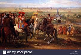 siege c8 neuf der meulen adam louis xiv devant le prieure de fives au siege