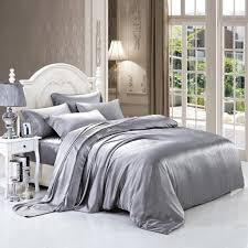luxuer 7 pieces silk bedding duvet cover u0026 sheet set handmade