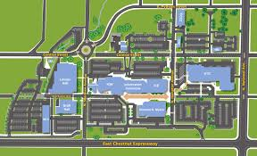 maps and directions otc springfield campus building floor plan maps