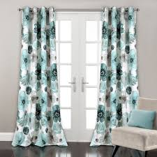 Blue And Beige Curtains Blue Curtains Drapes For Less Overstock
