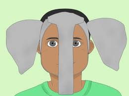 how to make elephant ears for a costume with pictures wikihow
