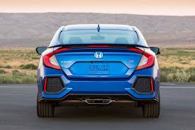 honda civic rear 2017 honda civic si drive a to the origins of the si