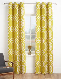 Yellow Patterned Curtains Yellow And Grey Patterned Curtains 100 Images Yellow And Grey