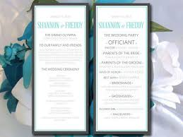 Wedding Ceremony Programs Diy Best 25 Modern Wedding Program Ideas On Pinterest Fun Wedding