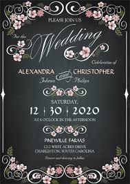 26 chalkboard wedding invitation templates u2013 free sample example