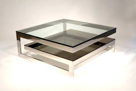square metal coffee table square metal coffee table silver small modern and glass pier one