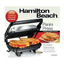 Hamilton Sandwich Maker Beach Press Gourmet Sandwich Maker Hamilton