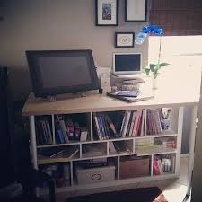 Ikea Japan Computer Desk Expedit Shelf Linnmon Table Top Olov Adjustable Legs To Make A