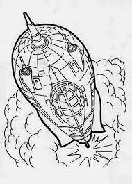 rocket ship flash gordon coloring rocket ship flash gordon