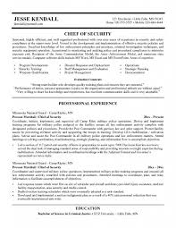 Security Job Resume by Security Guard Resume Objective U2013 Resume Examples