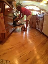 kitchen floor hickory kitchen wood floors in designing your floor