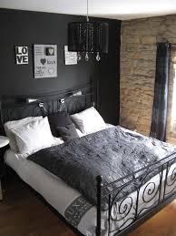 deco chambre grise deco chambre mur noir collection avec chambre gris et noir images
