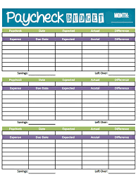 Budget Spreadsheet Excel Free by Bonfires And Wine Livin U0027 Paycheck To Paycheck Free Printable