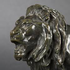 barye lion sculpture after barye bronze lion expertissim