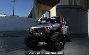 jeep custom omix ada custom jeep wrangler 4k wallpaper