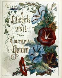 antique public domain book cover of u201ca little u0027s visit to a