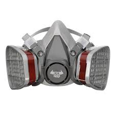 Gas Mask Costume Daniu 6200 N95 Double Gas Mask Protection Filter Chemical Half