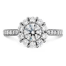 engagement rings diamond engagement rings hearts on