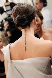 victoria beckham back tattoo danielhuscroft com