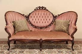 furniture antique loveseat antique settee bench high back