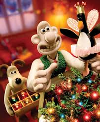 put christmas tree wallace gromit