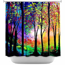 Shower Curtains With Trees Unique Tree Shower Curtains