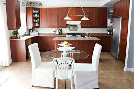 refinish cabinets without sanding painting kitchen cupboards before and after best paint to paint
