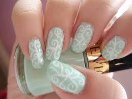 nail art coral gel nail art design pinterest nails