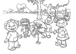 sid and friends the science kid coloring pages for kids with the