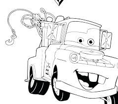 lightning mcqueen and mater coloring pages lightning and tow mater coloring pages colouring the truck pictures lightning mcqueen and mater