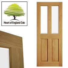 4 panel doors interior victorian 4 panel glazed veneer oak door 1981mm 2032mm