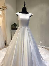 cheap wedding dress fashionable cheap wedding dress 2018 open corset back satin