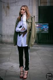 Hit The Floor Olivia - london fashion week fall 2017 street style olivia palermo style
