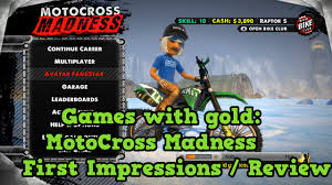motocross madness 3 xbox 360 games with gold august motocross madness review youtube