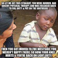 Physical Therapy Memes - meme creator so let me get this straight you were injured had