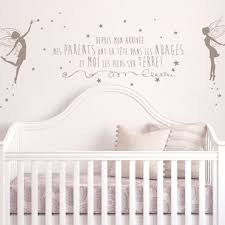 stikers chambre bebe stickers decoratifs chambre enfant stickers citation enfant