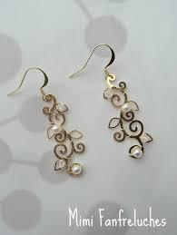 boucle d oreille mariage boucles d oreilles mariée boutique www mimifanfreluches