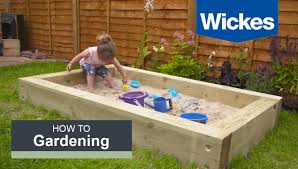 Build A Sandpit In Your Backyard How To Build A Sandpit With Wickes Youtube