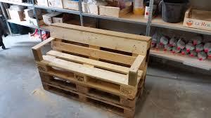 comfy little pallet garden bench in under 2 hours u2022 1001 pallets