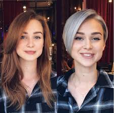 see yourself in different hair color 10 stunning long to short hair makeovers hair hairstyles news