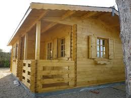 Comment Fabriquer Une Maison En Bois Chalet Habitable De Loisirs 40m2 En Bois En Kit